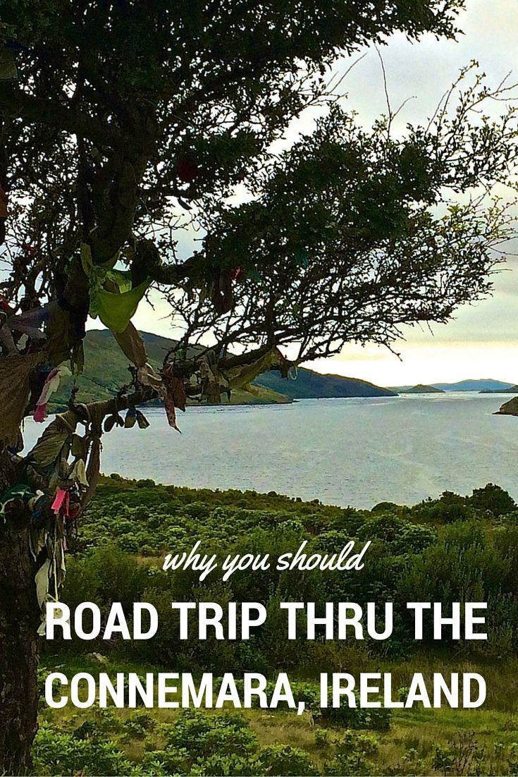 Why You Should Road Trip Through the Connemara in Ireland.  Click the pin to read the post from www.flirtingwiththeglobe.com