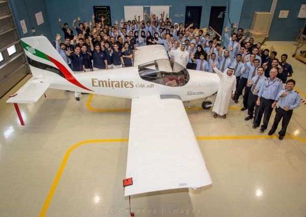 Emirates airline builds its own aircraft