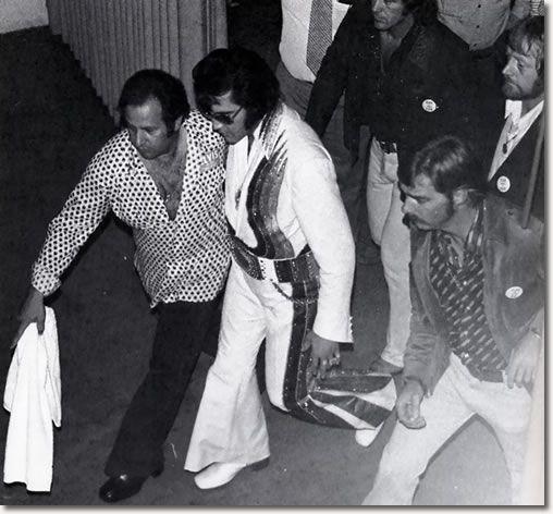 Elvis Presley, College Park, Maryland.  September 28, 1974.