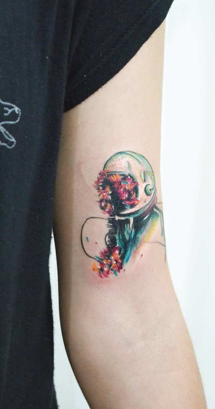 Watercolor Tattoos Will Turn Your Body Into A Living Canvas