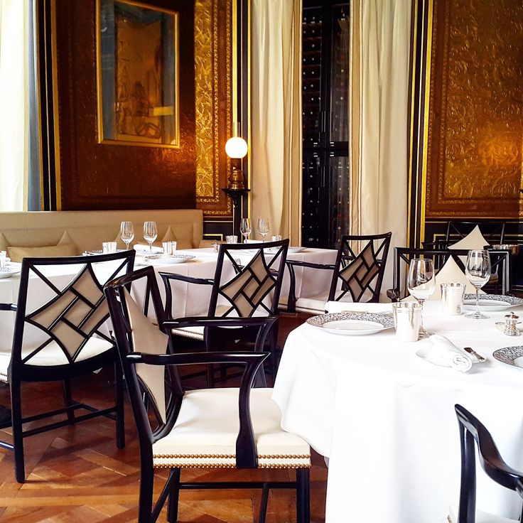La Reserve Hotel, Restaurant Gabriel, Palace, Paris