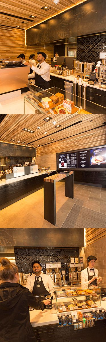 Starbucks opened its first-ever express format store on Wall Street in April of 2015. It is tailored for customers on-the-go who want high-quality Starbucks products in a beautiful environment, coupled with the efficiency that comes with knowing what they want, quickly.