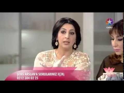 Cilt Sıkılaştıran Maske Tarifi - Şems Arslan - YouTube