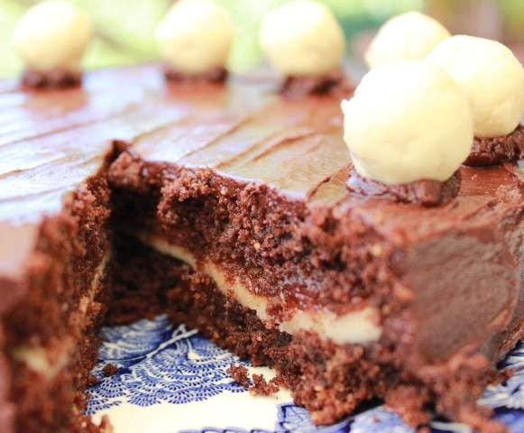 Recipe Easter Chocolate Simnel Cake by ColetteB