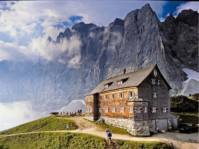 FALKENHÜTTE in the Karwendel mountain range, Austria