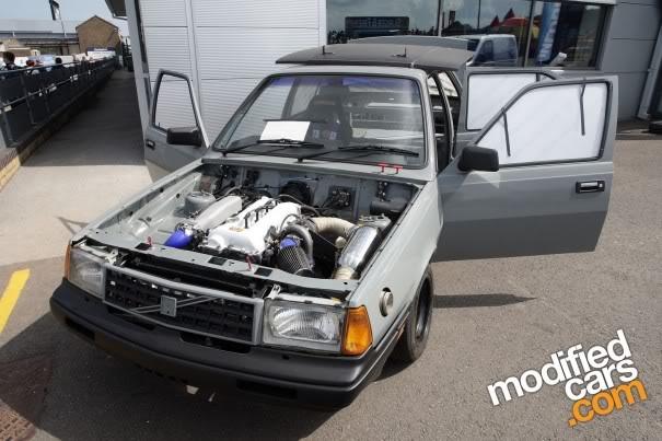 SR20-powered Volvo 360