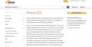 Amazon EC2 sign in