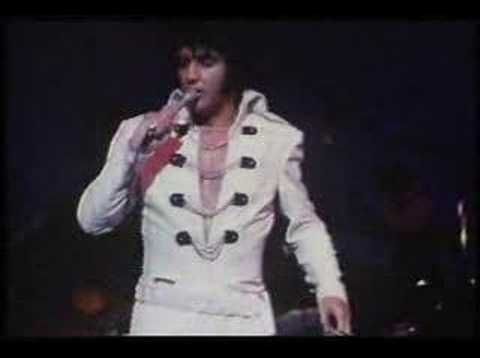 Elvis, Sweet Caroline, originally by Neil Diamond.  Out take from MGM's That's The Way it Is.