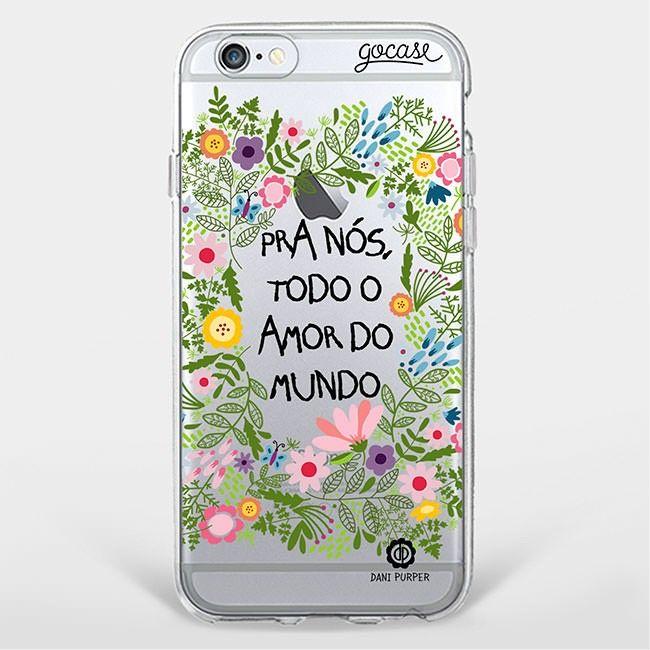 Capinha para celular Amor do Mundo