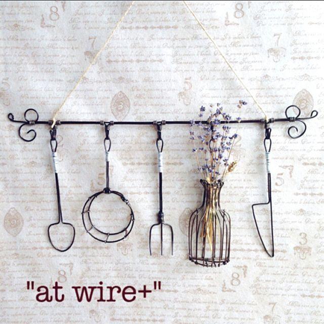 女性で、のat wire+/Overview/ハンドメイド/minne/ワイヤークラフト…などについてのインテリア実例を紹介。(この写真は 2015-08-18 17:32:50 に共有されました)