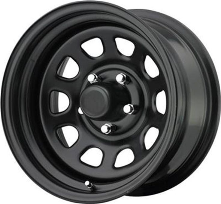Pro Comp Steel Wheels Series 51 Wheel with Gloss Black
