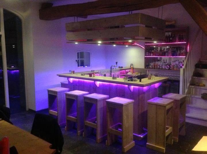 Bar steigerhout