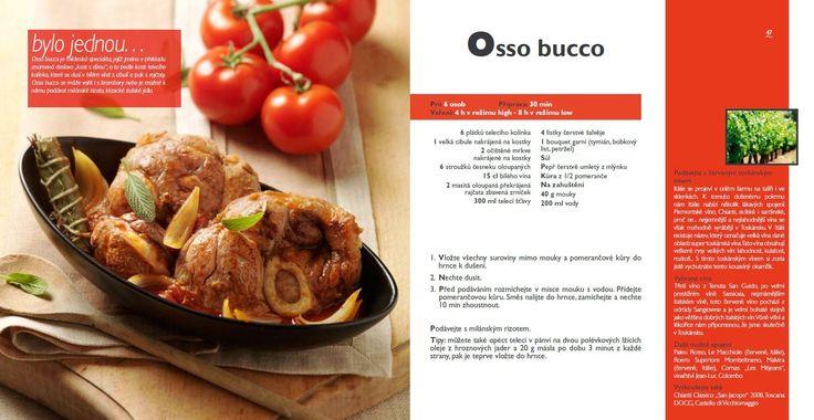 Osso Bucco recept, Tefal Mijotcook SD5000