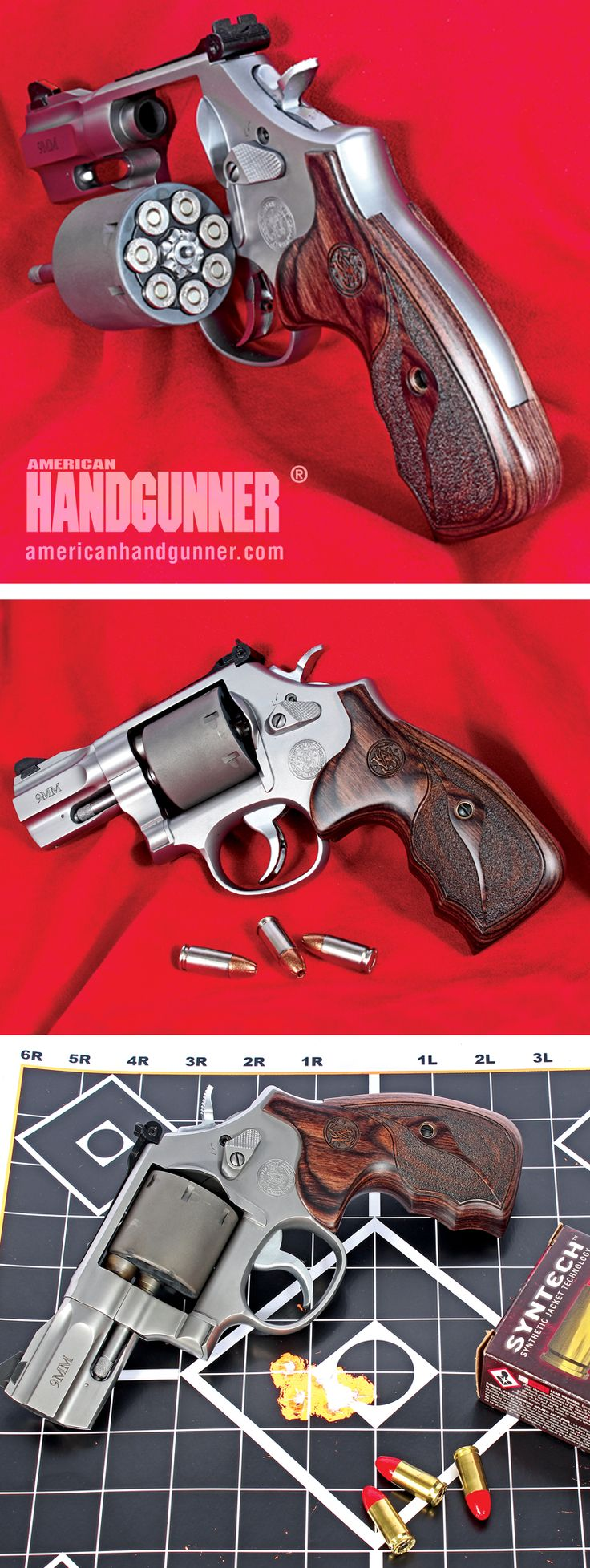"S&W's Performance Center Model 986 9mm | By Mark Hampton |  Proof Even Mark Can Learn Something New  S&W's Performance Center Model 986 in 9mm with 2.5"" barrel is a lot of gun in a small package. 