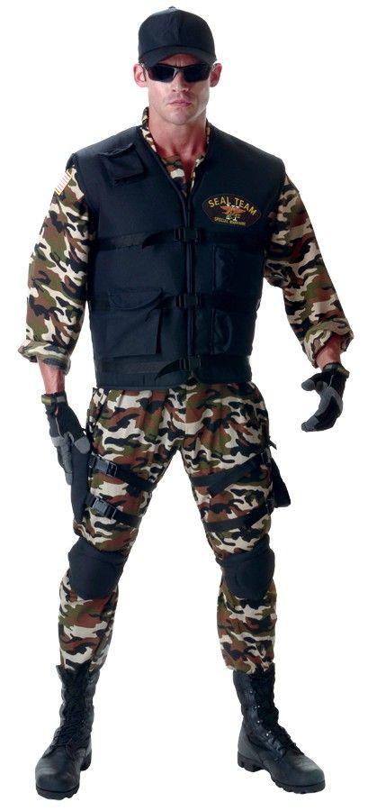 Seal Team Deluxe Costume