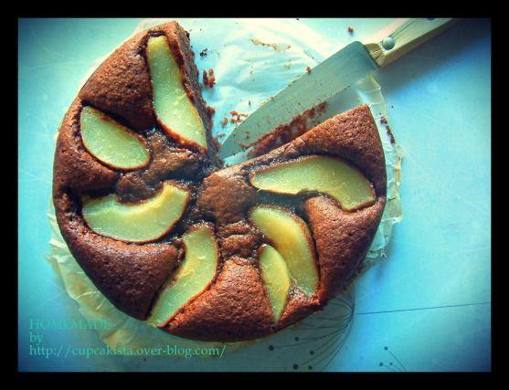 Recette - Gâteau chocolat poire gourmand et sans gluten | Notée 4/5