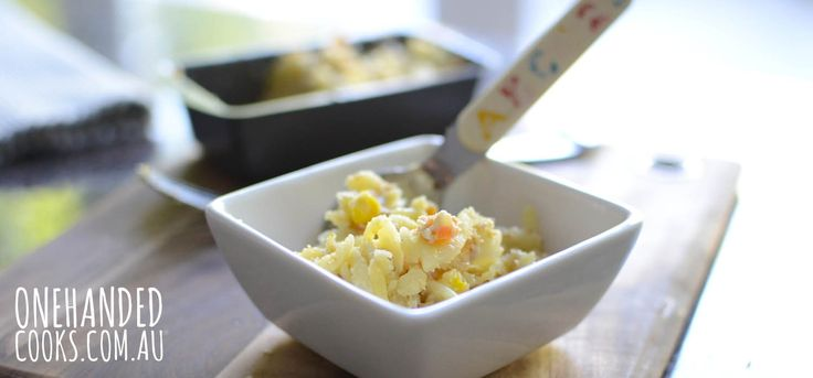 I am a huge fan of Tuna Mornay. I remember when mum used to make it for us as kids, it was the one meal all five of us happily ate. So when I served it up to Harry today I was very happy to see him devour a plate of it. You can use …