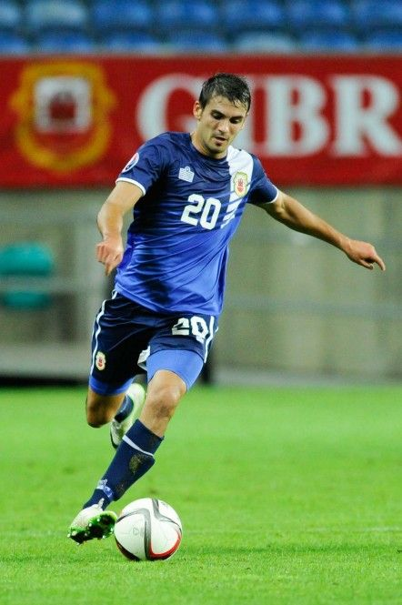 Jean-Carlos Garcia - The Gibraltar National Team - Gibraltar Football Association