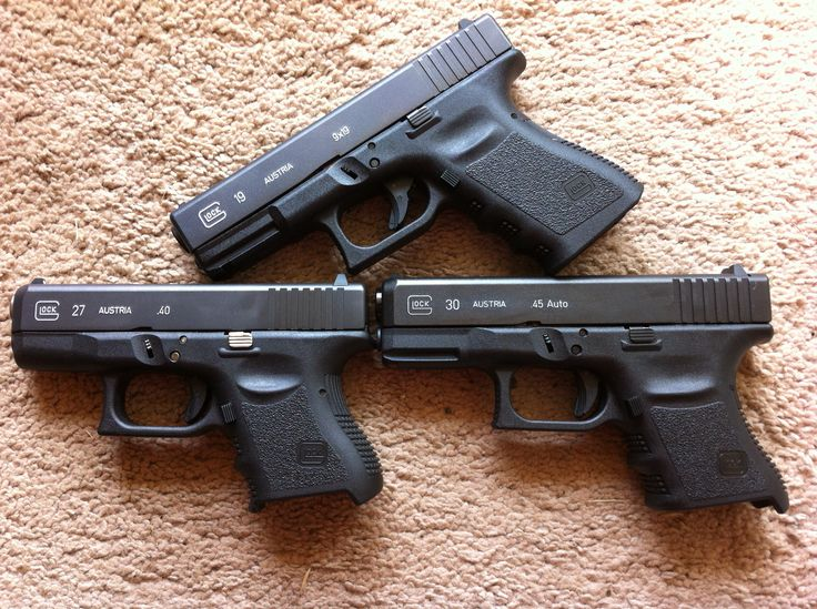 My Glock 30sf,19,27 | survival of the fittest | Pinterest ...