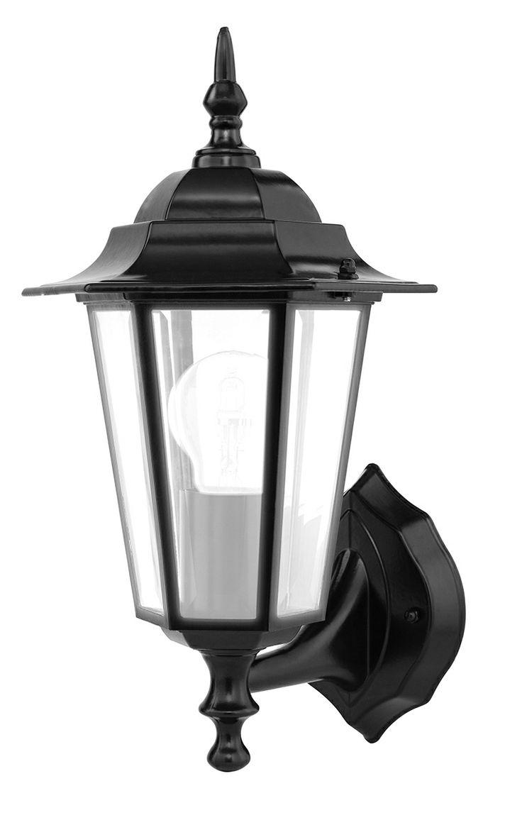 Villa Modern Coach Light in Black