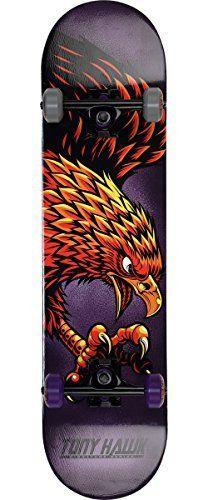 Tony Hawk Popsicle Talon Skateboard, Purple, 31 by Tony Hawk. Tony Hawk Popsicle Talon Skateboard, Purple, 31.
