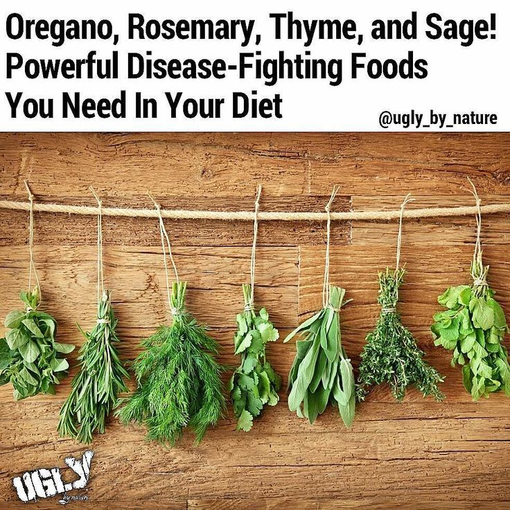 According to Anthony Williams author of Medical Medium Oregano thyme rosemary and sage are powerful disease-fighting foods that each have a different healing focus. When you eat all of them regularly their individual properties complement each other enhancing their ability to defend against pathogens in the body like Epstein-Barr virus shingles streptococcus E. Coli H. pylori C. difficile MRSA and fungus  Oregano thyme rosemary and sage together have antiviral antibacterial and anti-fungal…