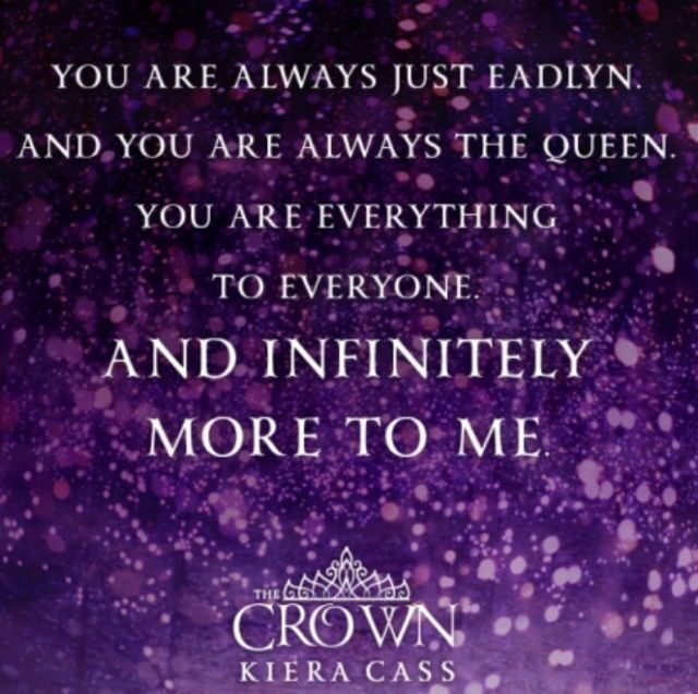 The Crown Quote 4 #TheCrown #KieraCass #TheSelection