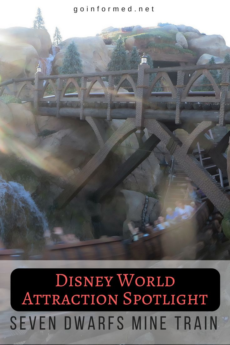 A charming addition to Disney World's New Fantasyland, Seven Dwarfs Mine Train features a unique ride photo experience. Plan your touring strategy here. via @goinformednet