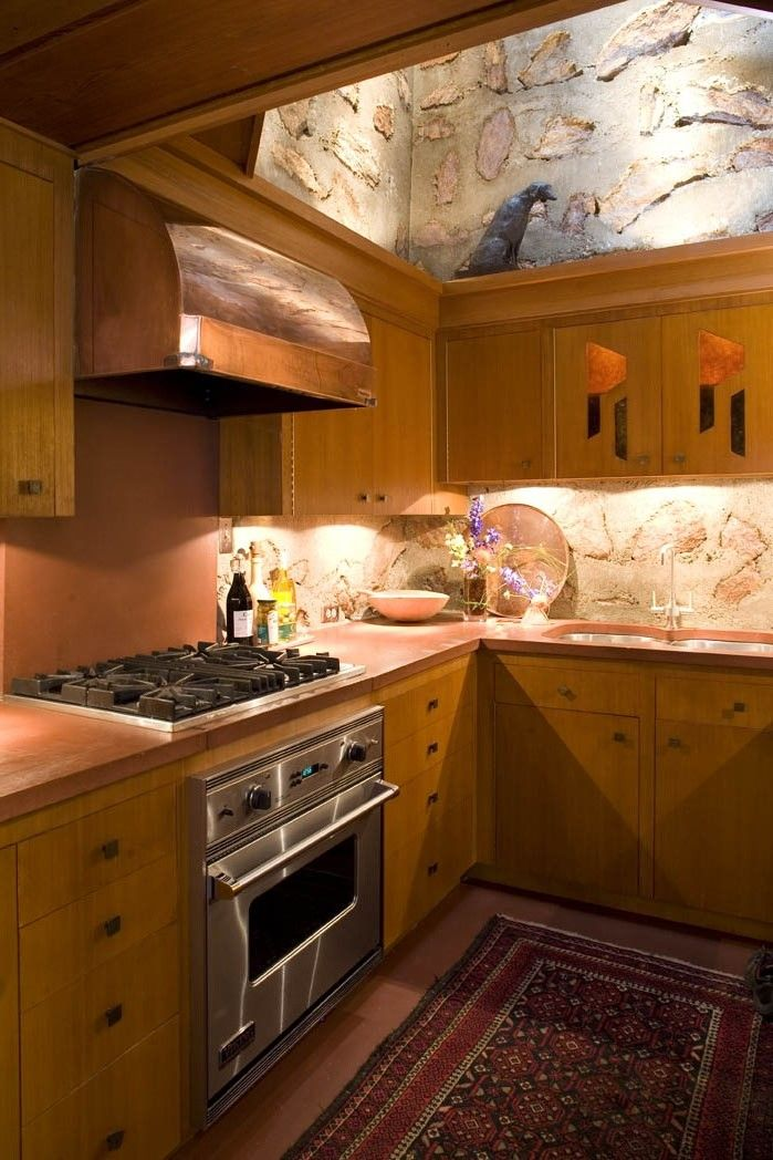 Kitchen Design Ideas: This Is From The Broad Margin Home That Was Designed  By Frank Lloyd Wright. We Had The Pleasure In Restoring It Back To Itu0027s  Original ...