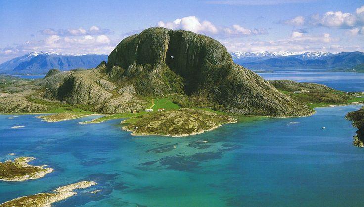 Torghatten, Helgeland, #Norway.