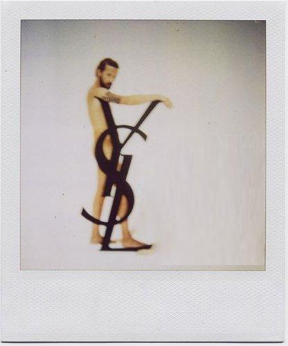 YSL Polaroid.