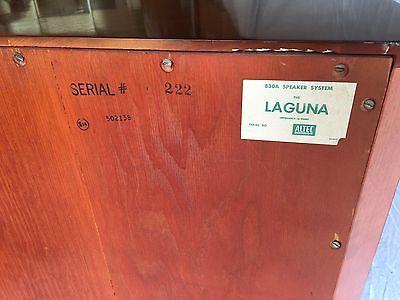 *EXCELLENT* VINTAGE ALTEC LAGUNA 830A STEREO FLOOR SPEAKER