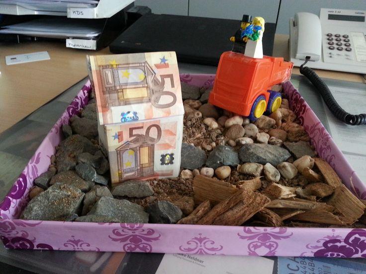 Geschenk Fur Hausbau Geschenk Zur Einweihung Hausbau Geld Geschenke