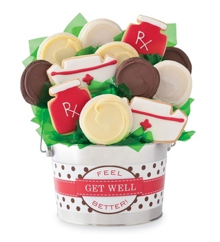 Get Well Cookie Flower Pot - 6PC GET WELL COOKIE FLOWER POT in Valentine's Day 2013 from Cheryl's on shop.CatalogSpree.com, my personal digital mall.