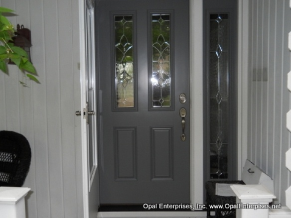 The 16 Best Images About Single Doors With Sidelights On Pinterest Dark Stains Fiberglass