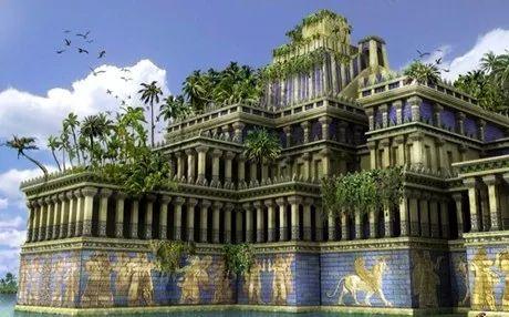 Φωτογραφία: Οι κρεμαστοί κήποι της Βαβυλωνας !!!!