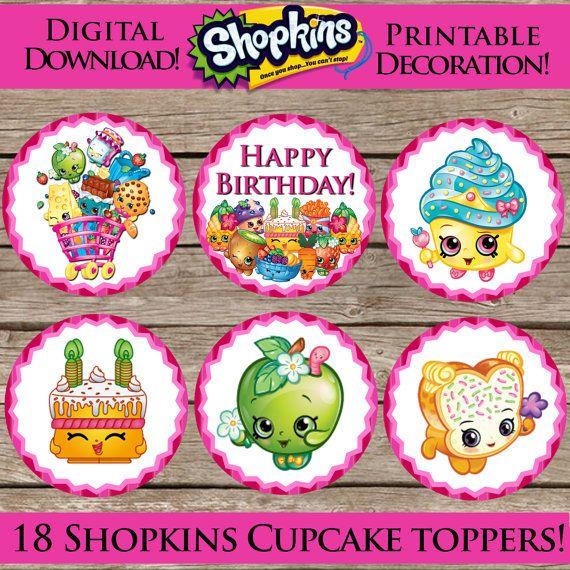 Shopkins Happy Birthday Cake Images