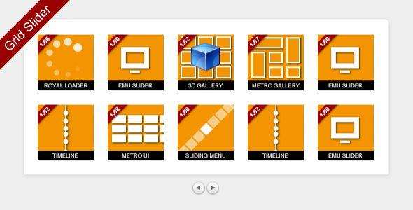 MelonHTML5 - Grid Slider - CodeCanyon Item for Sale
