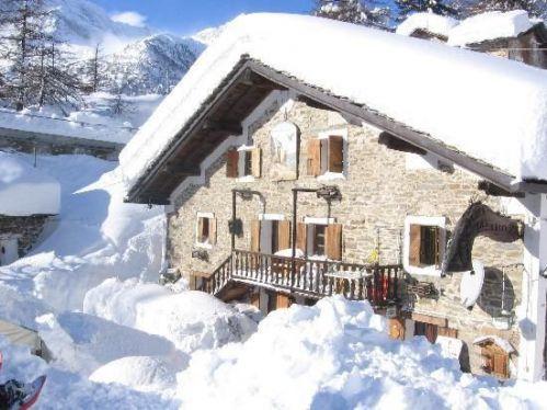 Hotel Chalet del lago a Ceresole Reale, invernale