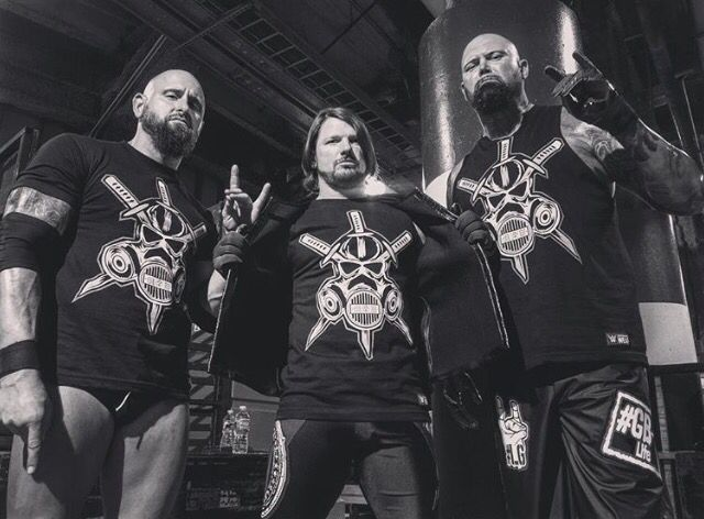 The Club  AJ Styles, Luke Gallows & Karl Anderson
