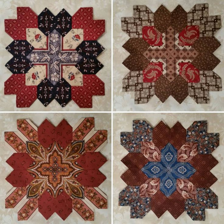 More of my Lucy Boston blocks from the book Lucy Boston Patchwork of the Crosses.  Class Nov.  2015 @ Glad Creations in MN.  #quiltsremembered #quilting #quilts #quilting #lucyboston #gladcreations #patchwork #piecing