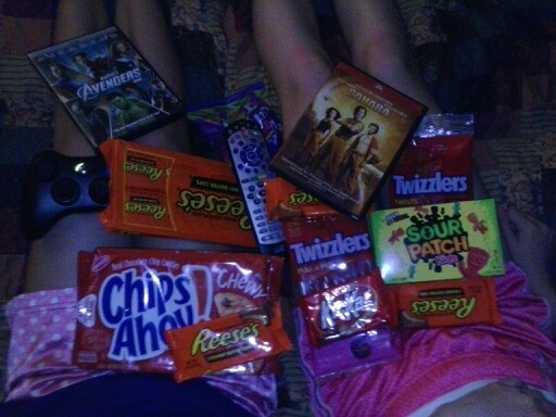 44 best images about Sleepover Snacks on Pinterest | Movie nights ...