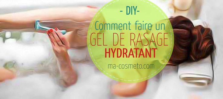 Faites vous-même ce super gel de rasage hydratant avec seulement 2 ingrédients. Pour des jambes lisses, douces et bien hydratées. Une crème de rasage maison