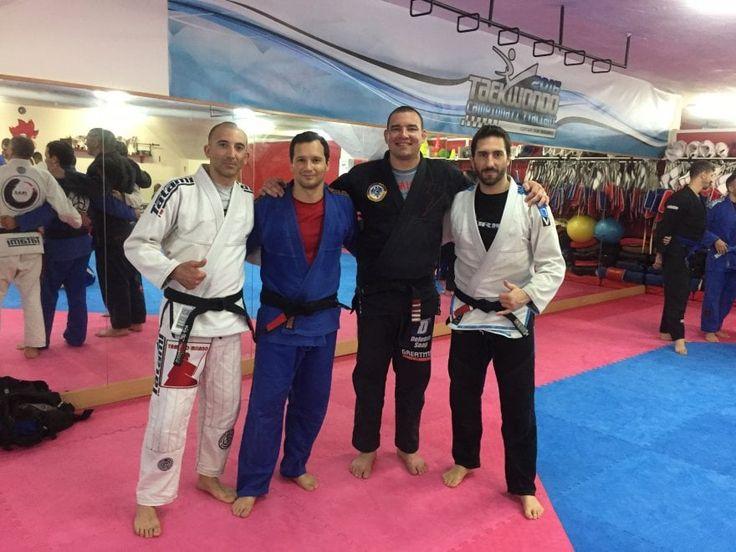 Napoli per un giorno capitale del Jiu-Jitsu brasiliano