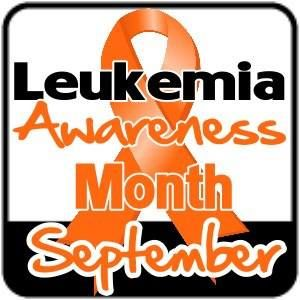 September is Leukemia Awareness Month. For my Apes♥♥