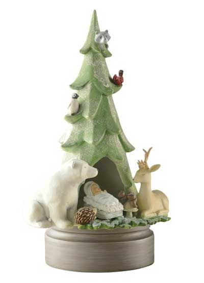 GRASSLANDS ROAD CHRISTMAS Ornament  FLAKEY FRIENDS SANTA #449727 NEW WITH TAGS