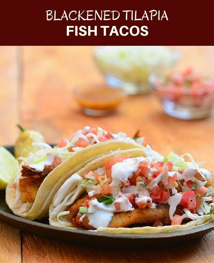 25 best ideas about blackened fish tacos on pinterest for Blackened fish tacos