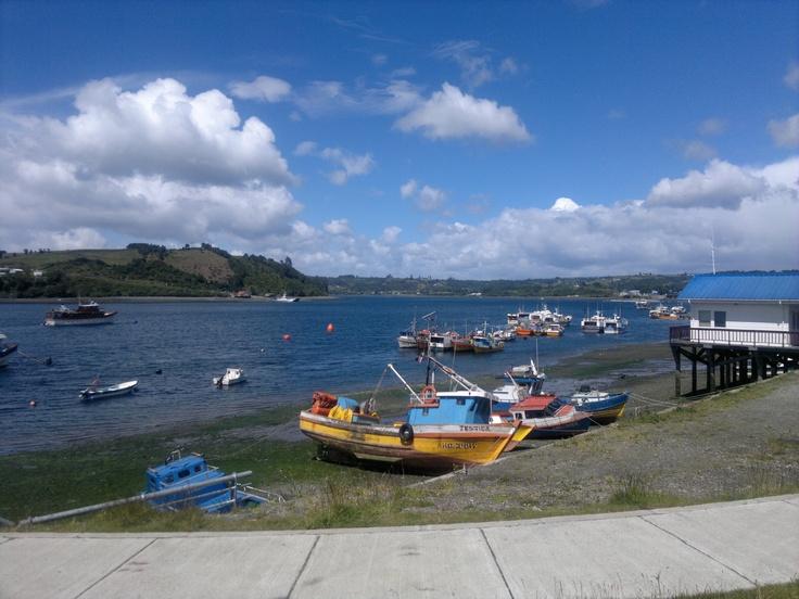 Dalcahue, Chiloé. Chile.