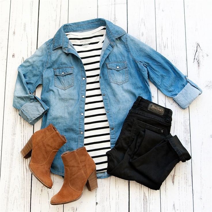 Chambray tops are a wardrobe staple and can be worn year-round.  There are so many ways to wear them....layer under a sweater, layer over a tee or tank, tie them at the waist, dress them up or down.