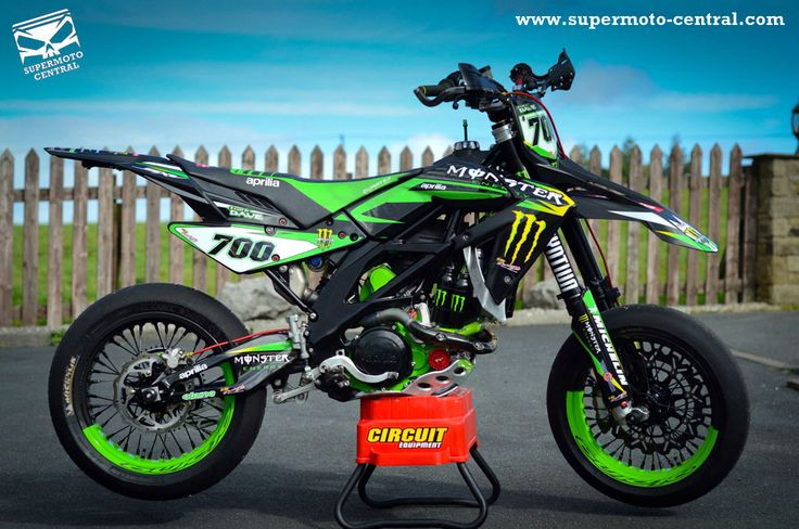 Aprilia SXV 450 VdB 2007 Monster Energy Special
